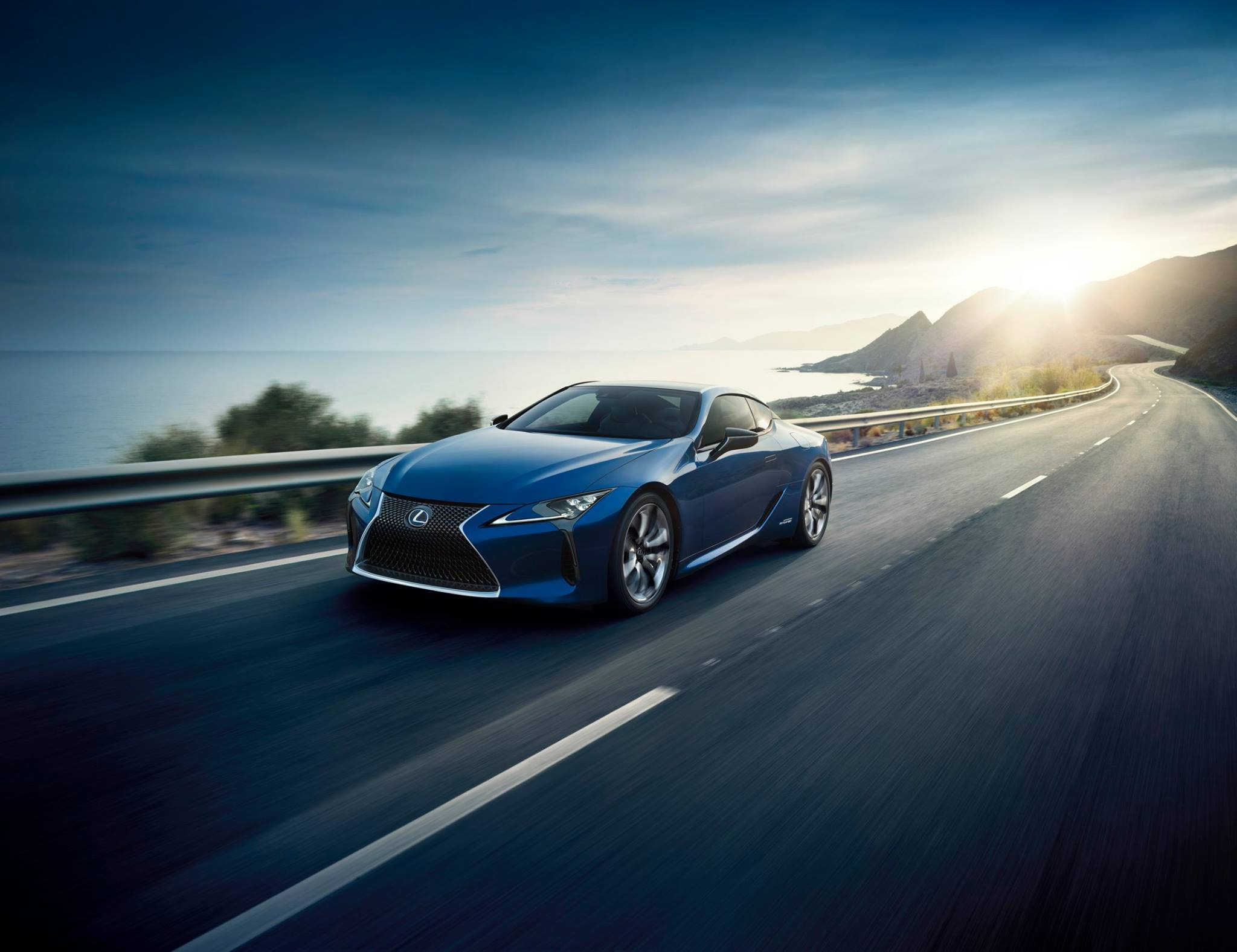 Photo of Lexus'un Süper Coupe'si LC 500