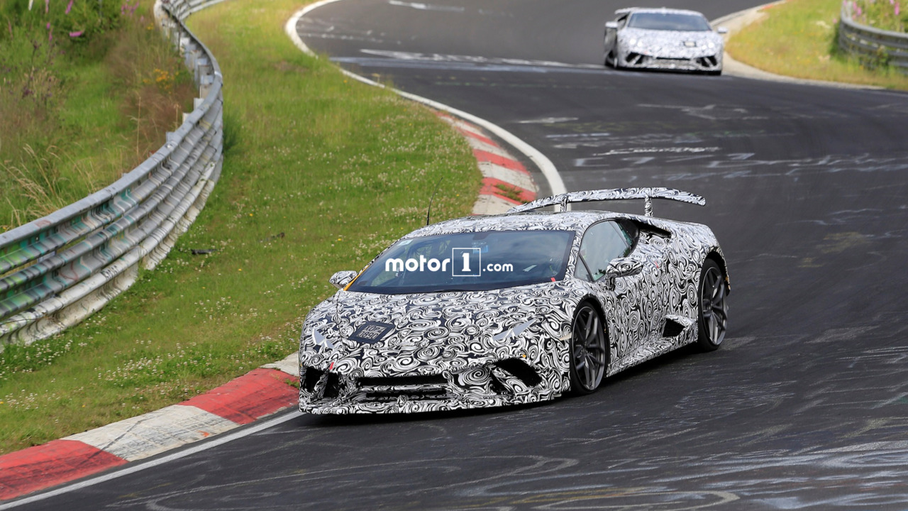 Photo of Lamborghini Huracan Superleggera, Ring'i inletiyor