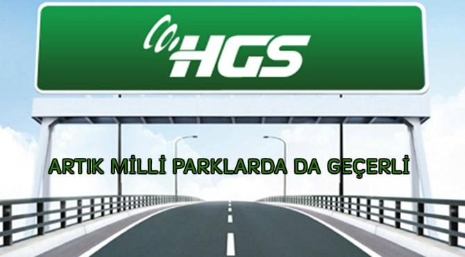 Photo of HGS artık milli parklarda da geçerli