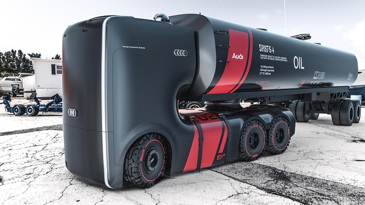 Photo of Yakıt tankerlerini Audi tasarlasaydı