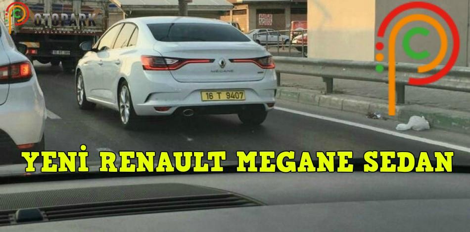 Photo of Yeni Renault Megane 4 Sedan, Bursa'da kamuflajsız görüntülendi