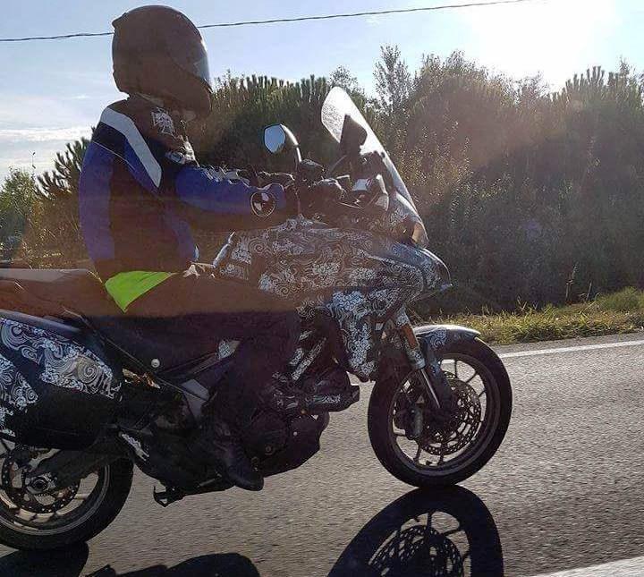 Photo of Ducati Multistrada 939 test edilirken yakalandı