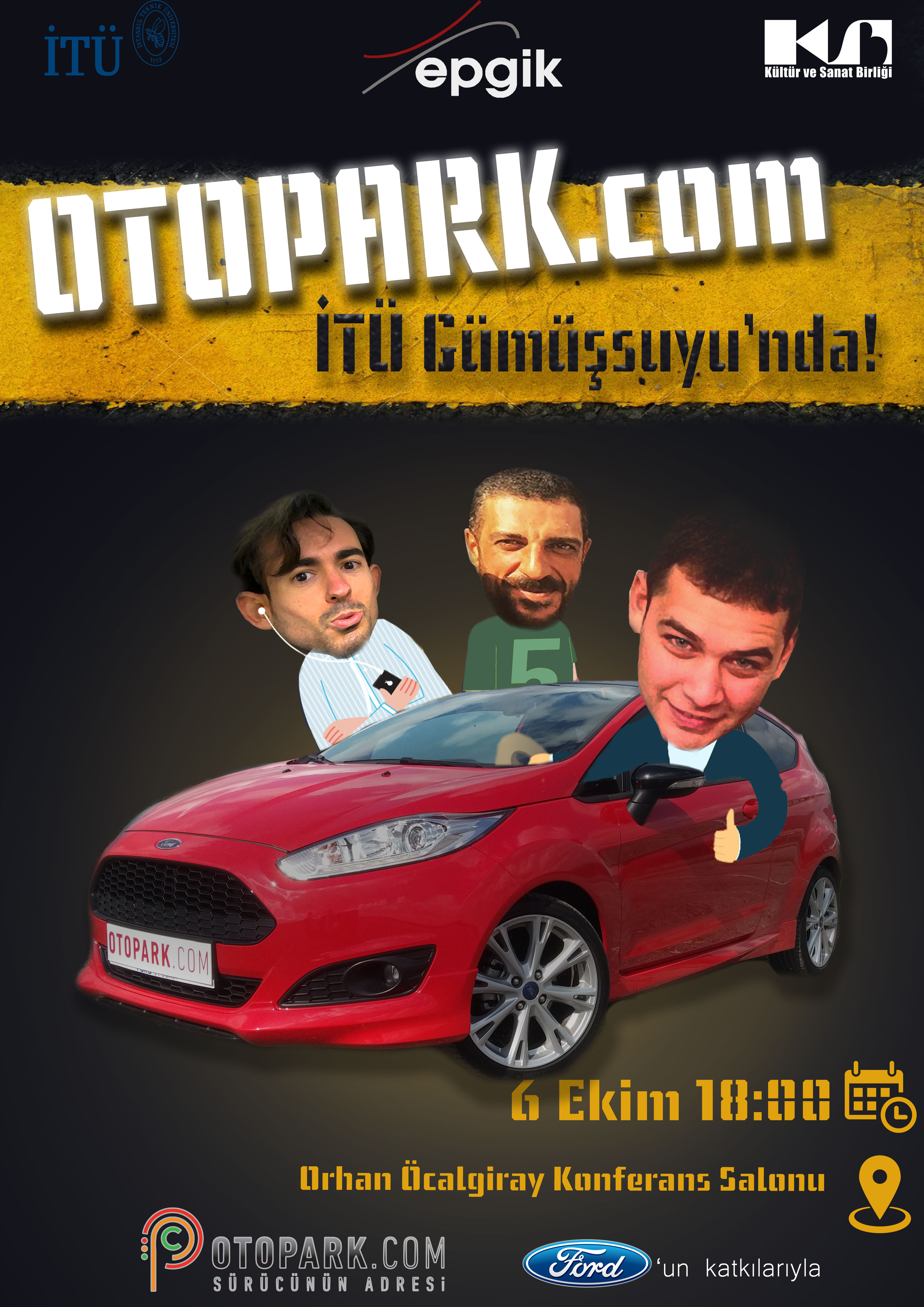 Photo of İTÜ'deyiz!