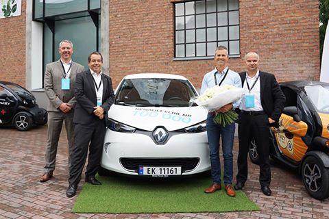 Photo of Renault'dan 100 bininci elektrikli otomobil satışı