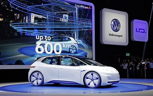 """Photo of Volkswagen'in gelecek vizyonu """"I.D concept"""" de buluştu"""