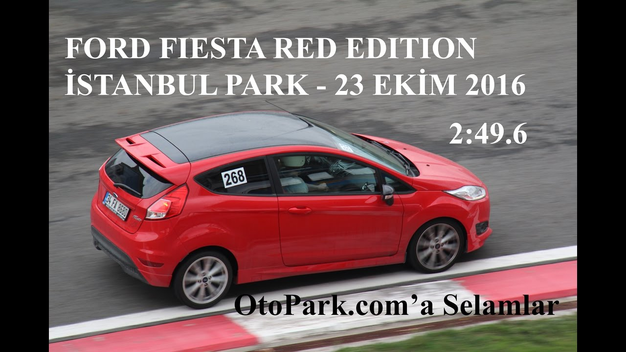 Photo of İstanbul Park: Ford Fiesta Red