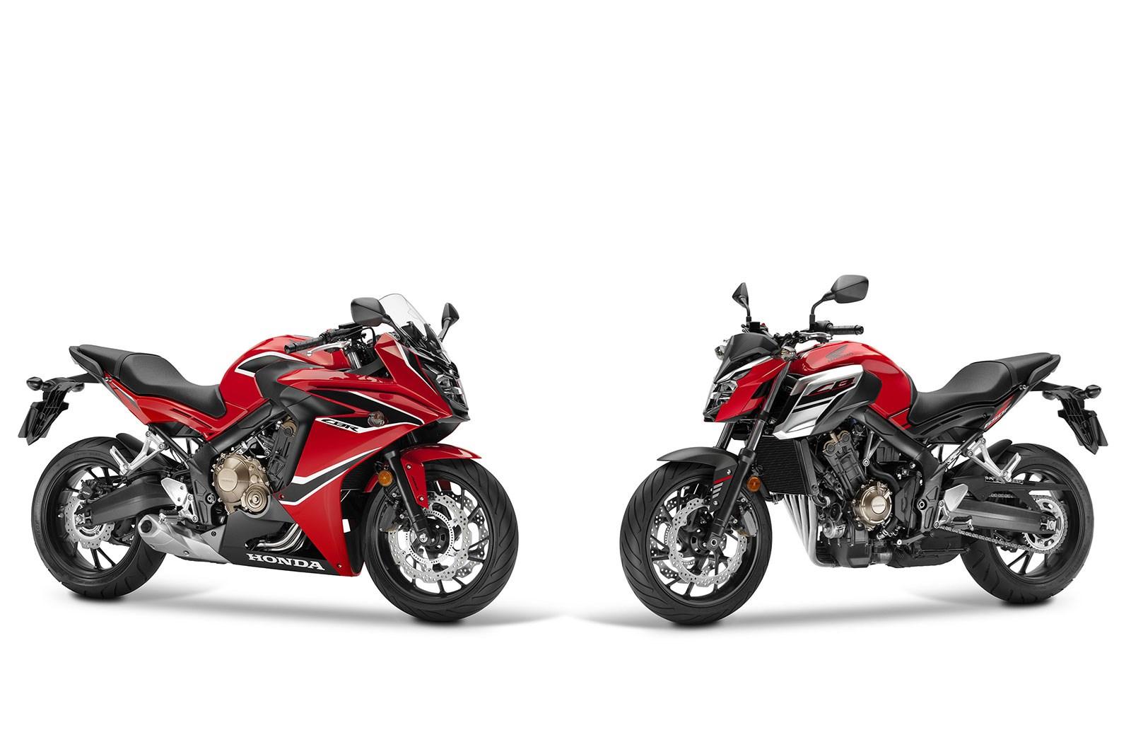 Photo of EICMA: Honda CBR650F & CB650F