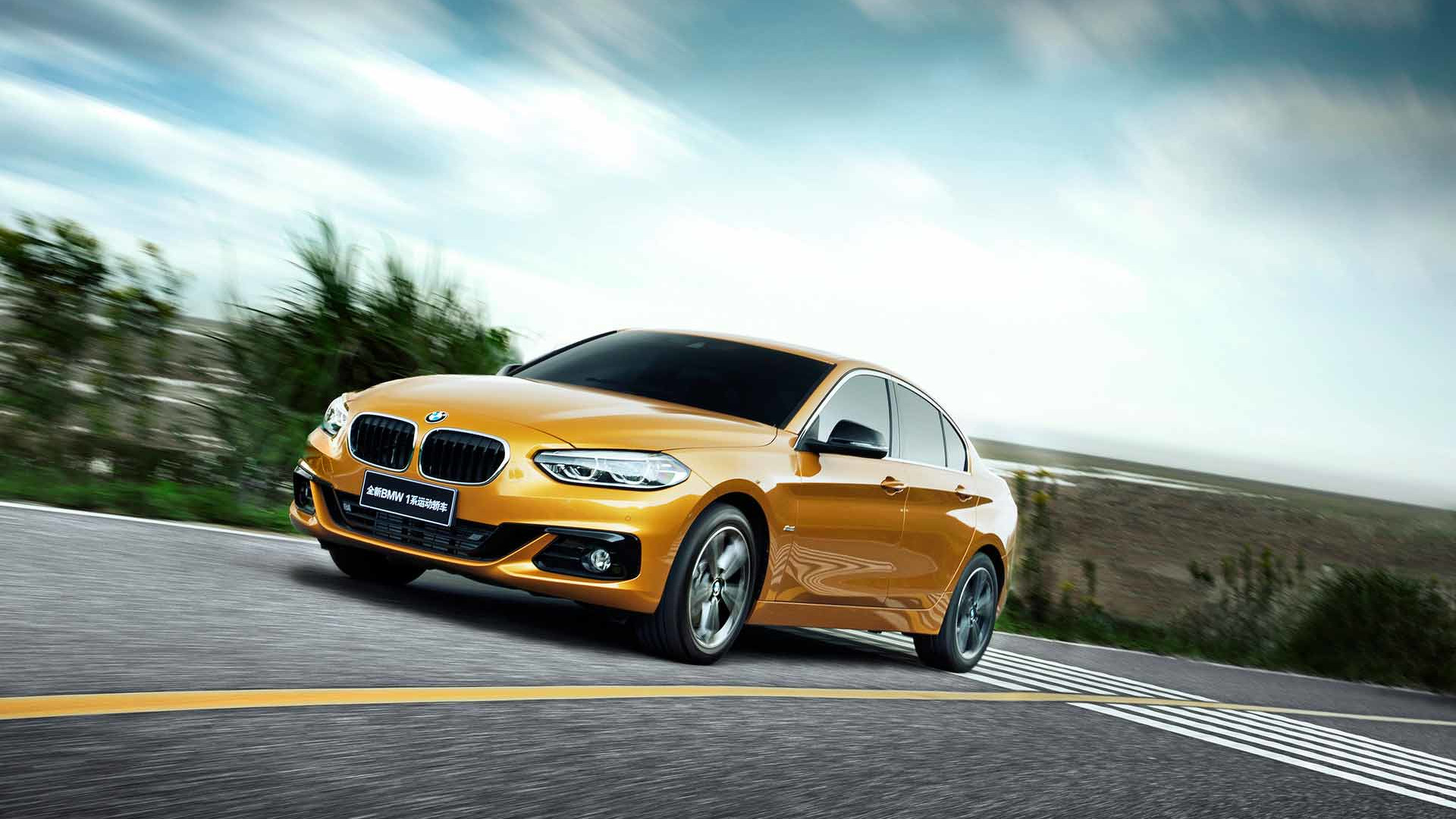 Photo of BMW 1 Serisi sedan Çin yolcusu