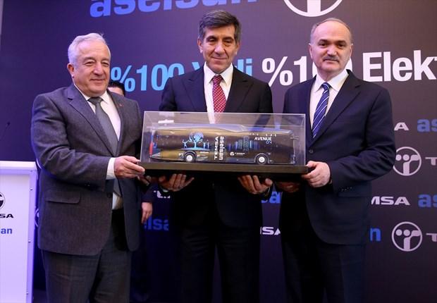 Photo of Türkiye'nin ilk yüzde 100 yerli elektrikli otobüsü