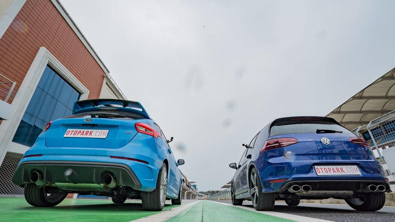 Photo of Ford Focus Rs vs VW Golf R | DRAG