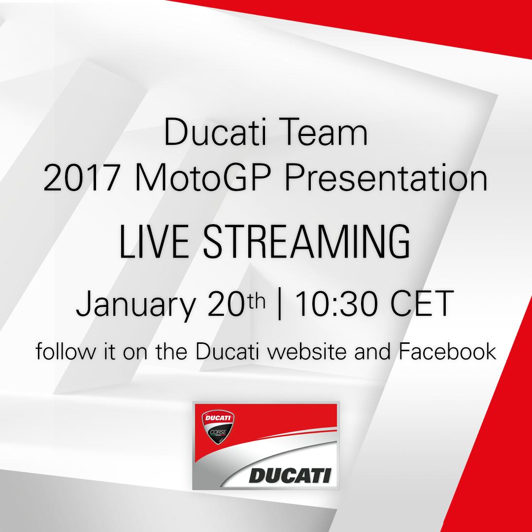 Photo of Ducati Takımı 2017 MotoGP Sunumu