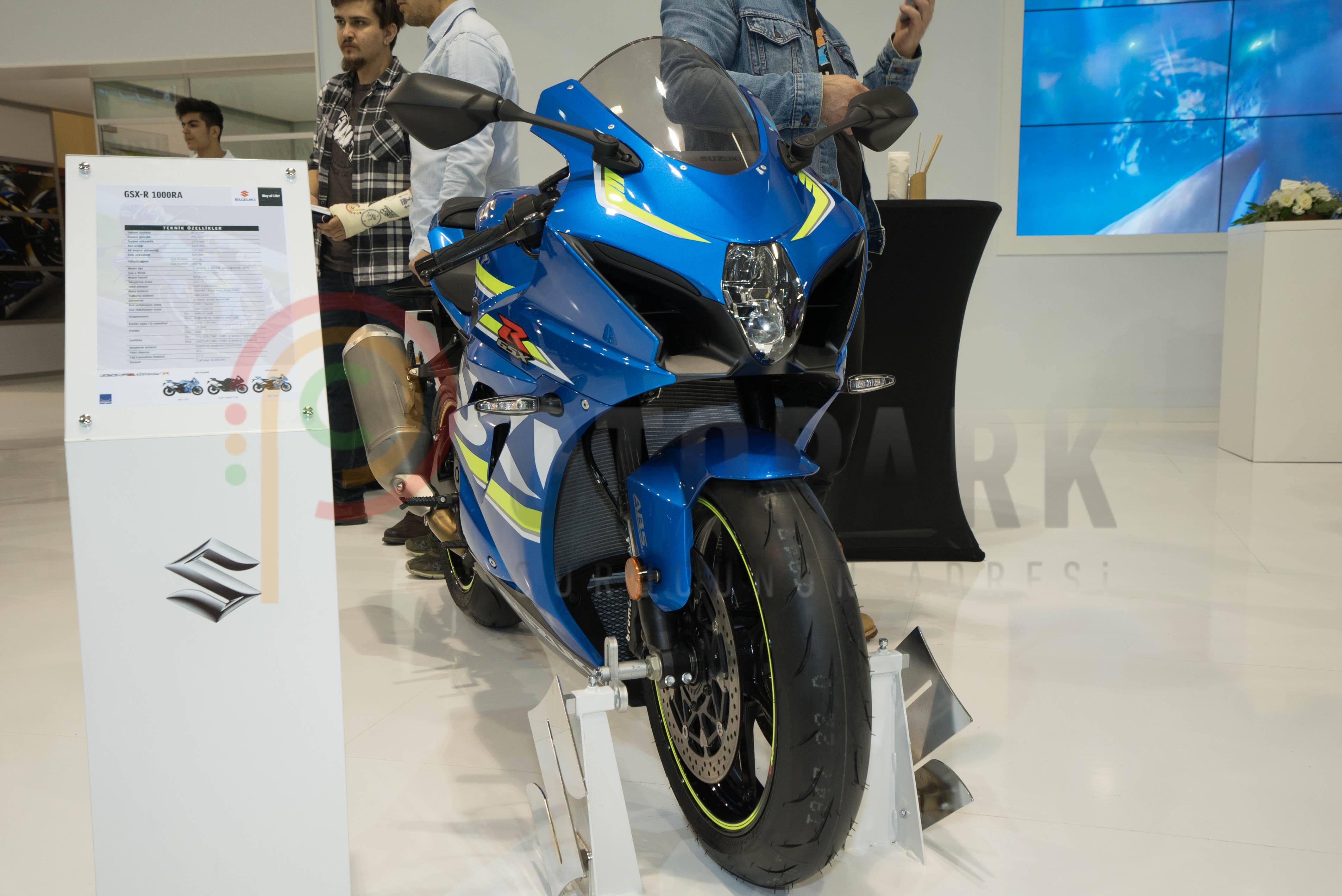Photo of İstanbul Motobike 2017: Suzuki Standı