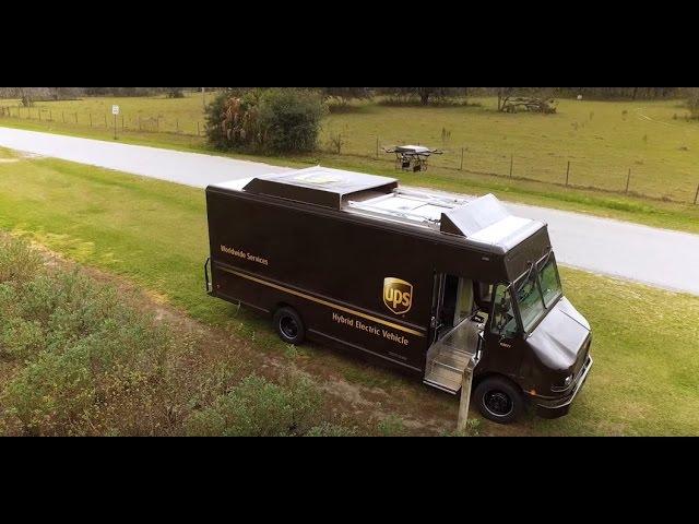 Photo of UPS, insanlarla birlikte drone'larla çalışacak