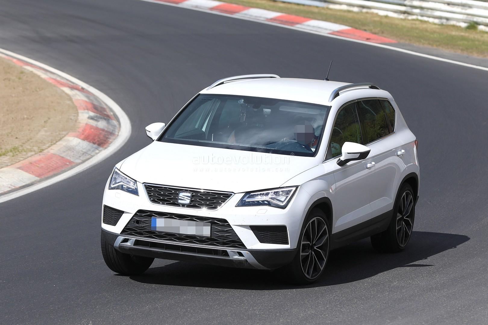 Photo of SEAT Ateca Cupra, Nürburgring yollarında!
