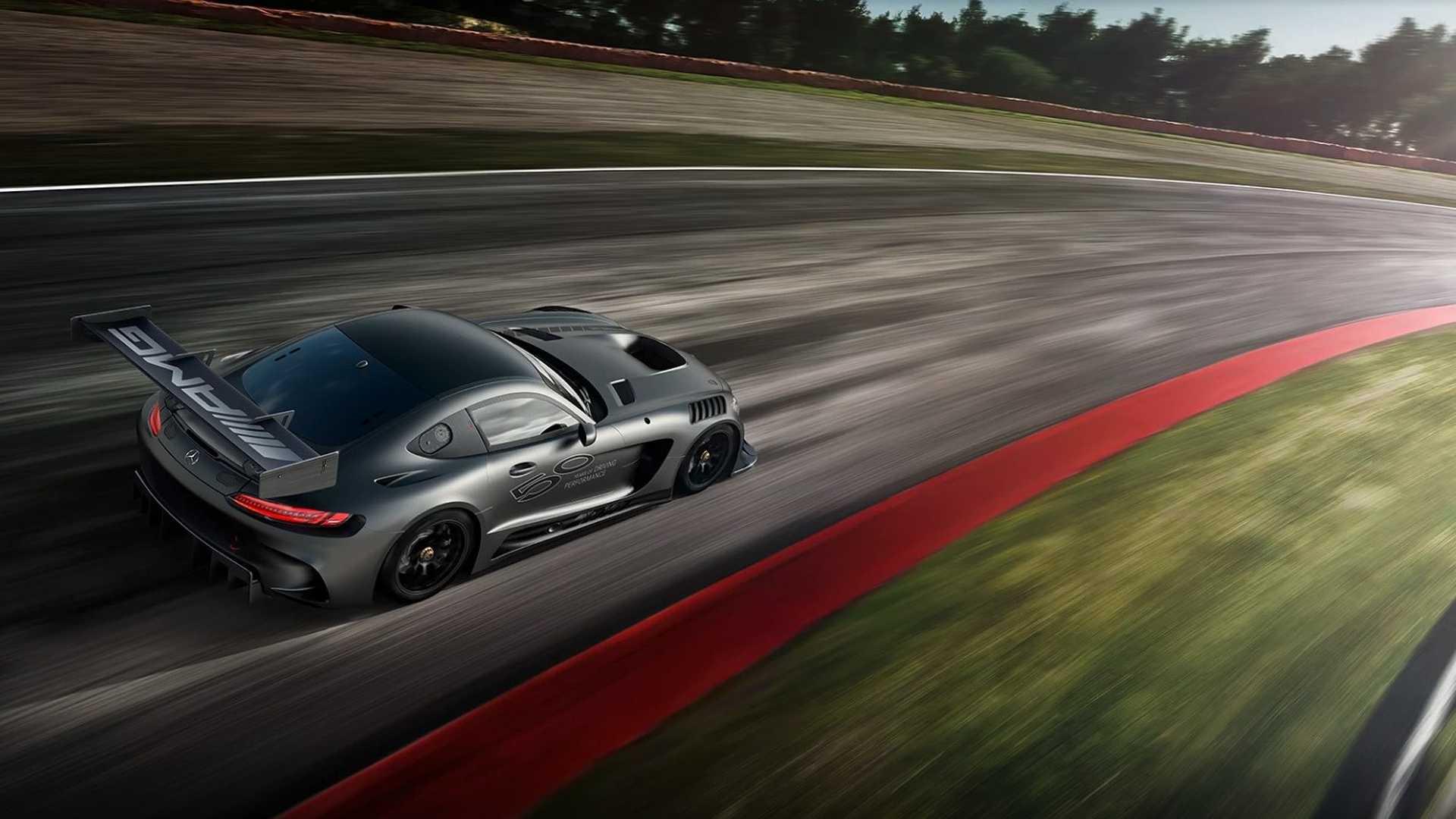Photo of Mercedes, AMG'nin 50. yılını GT3 Edition 50 ile kutluyor