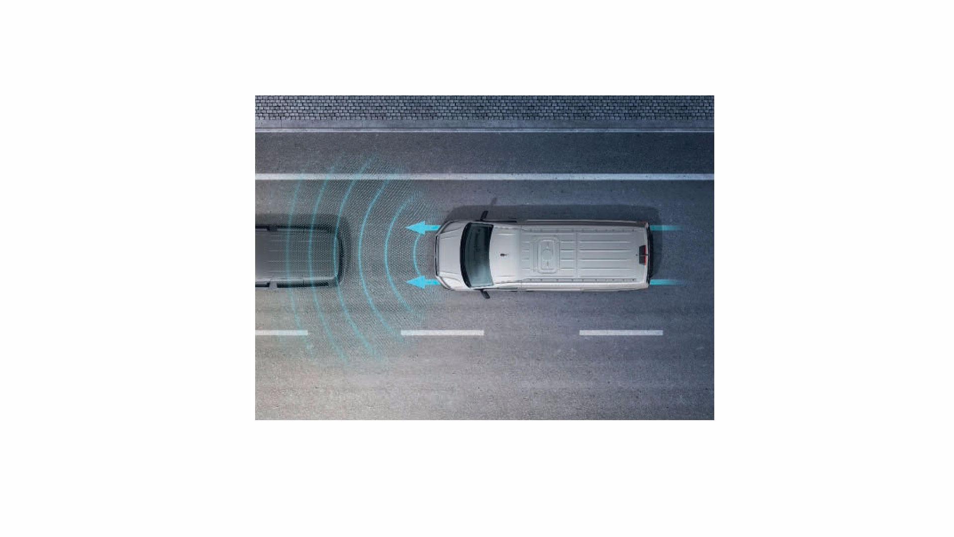 Photo of VW acil fren desteği sistemini ticari araçlarda standart olarak sunacak