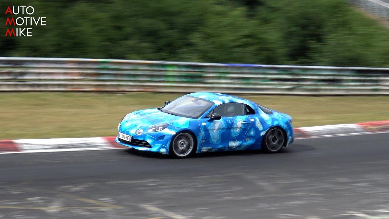 Photo of Yeni Alpine A110 Nürburgring'de görüntülendi