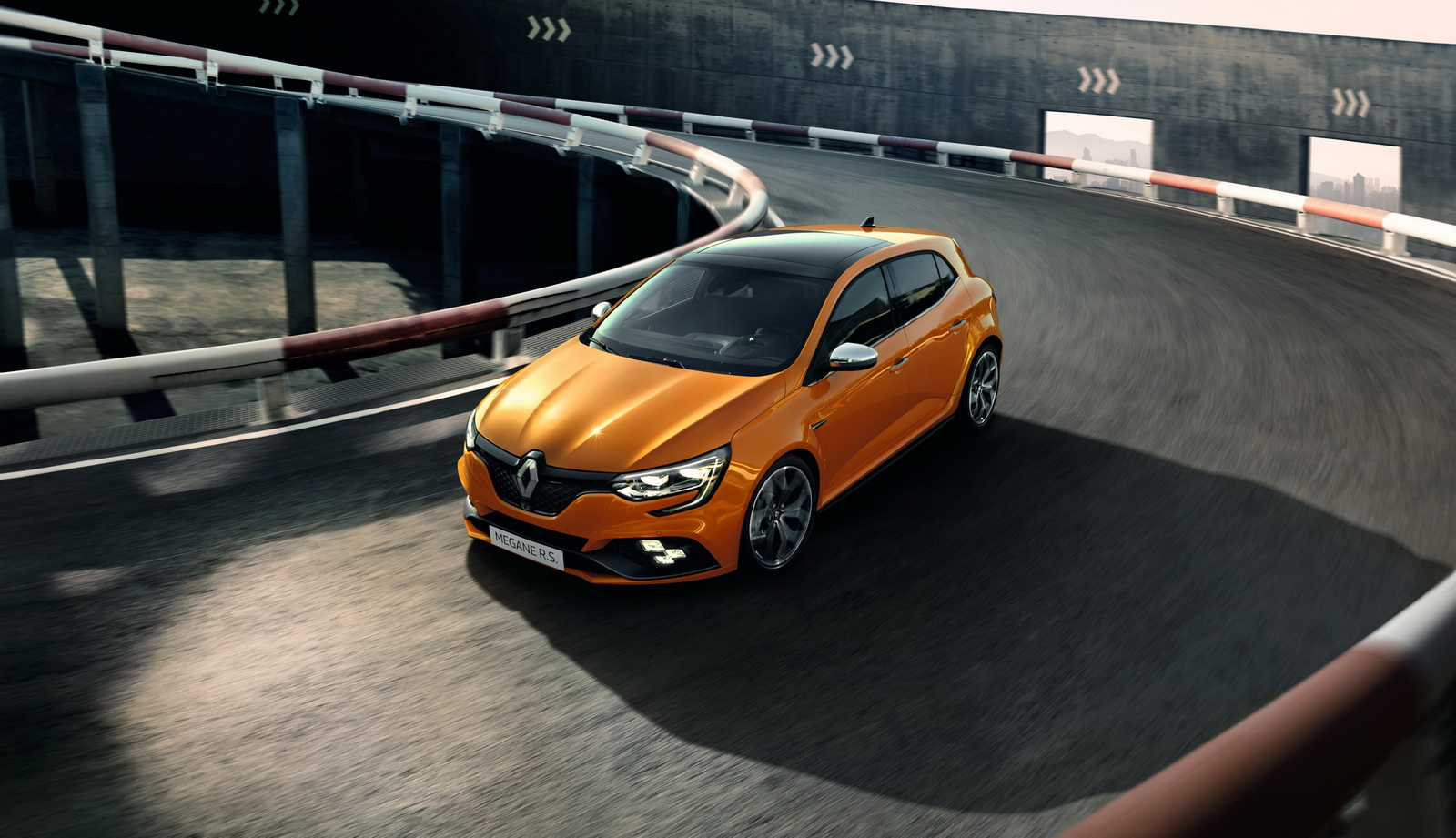 Photo of Renault'dan yeni Megane R.S. hot hatch!