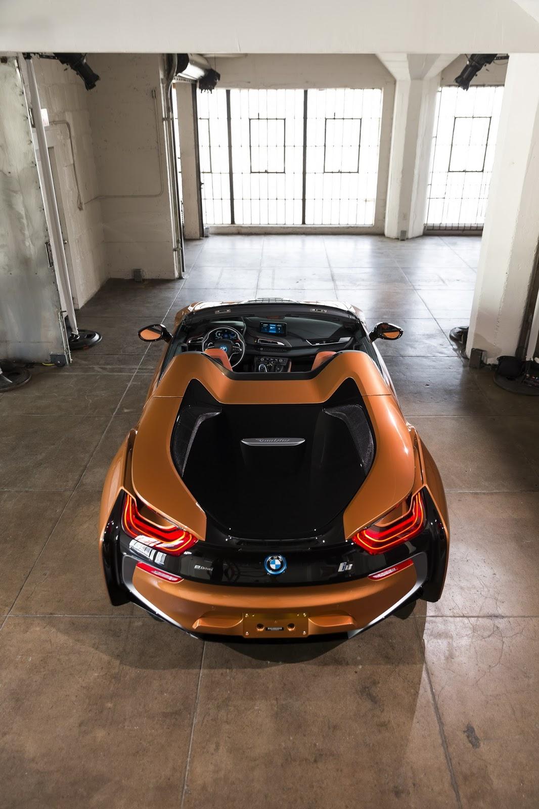 Bmw I8in üstünü Açıyor I8 Roadster Otoparkcom
