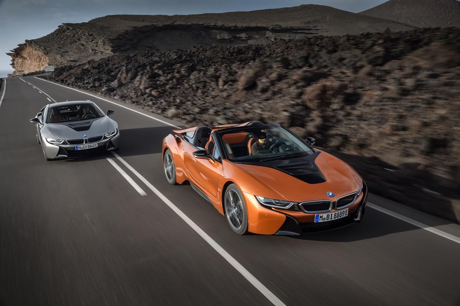 Photo of BMW, i8'in üstünü açıyor: i8 Roadster
