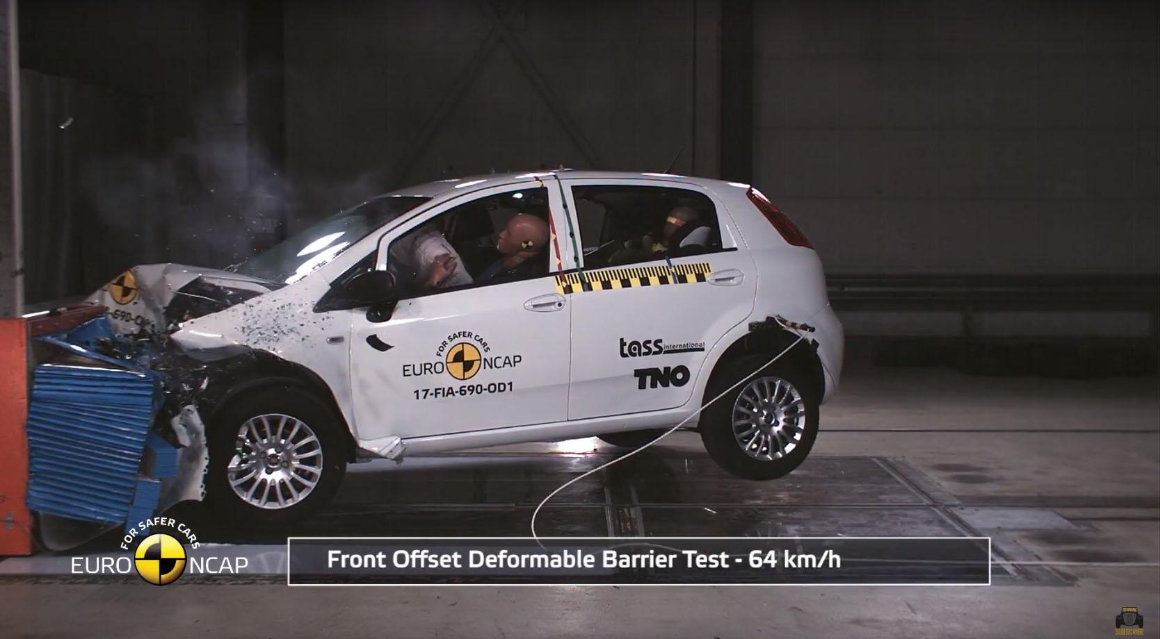 Photo of Fiat Punto, Euro NCAP testinden sıfır çekti!