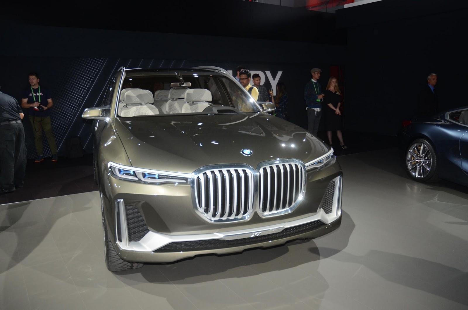 Photo of BMW X7 iPerformance Concept Los Angeles'da yerini aldı