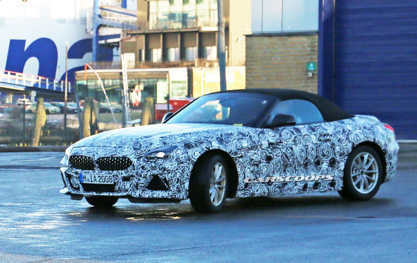 Photo of 2019 BMW Z4 giderek kamuflajdan arınıyor