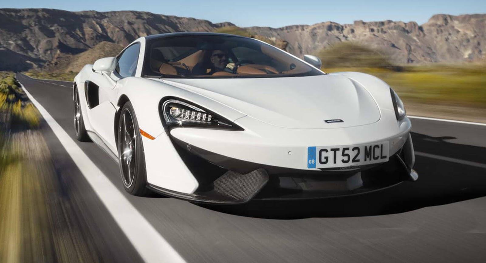 Photo of McLaren 570GT'yi daha performans odaklı hale getiriyor