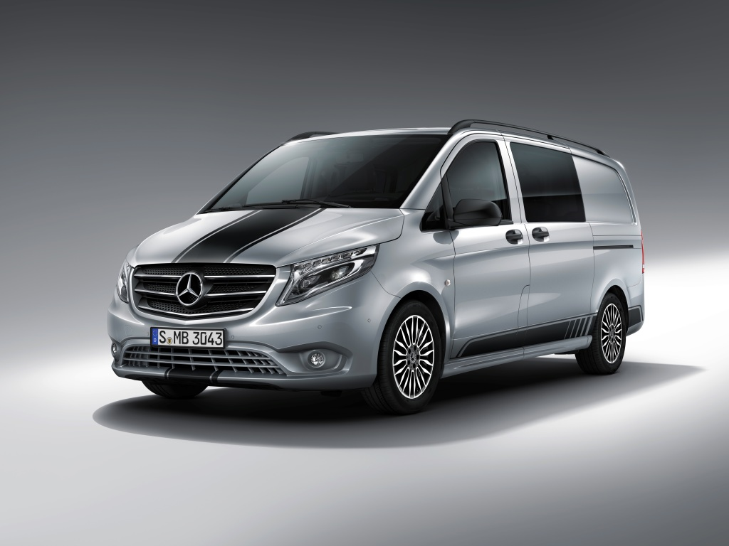 Photo of Mercedes-Benz'den spor paketli Vito