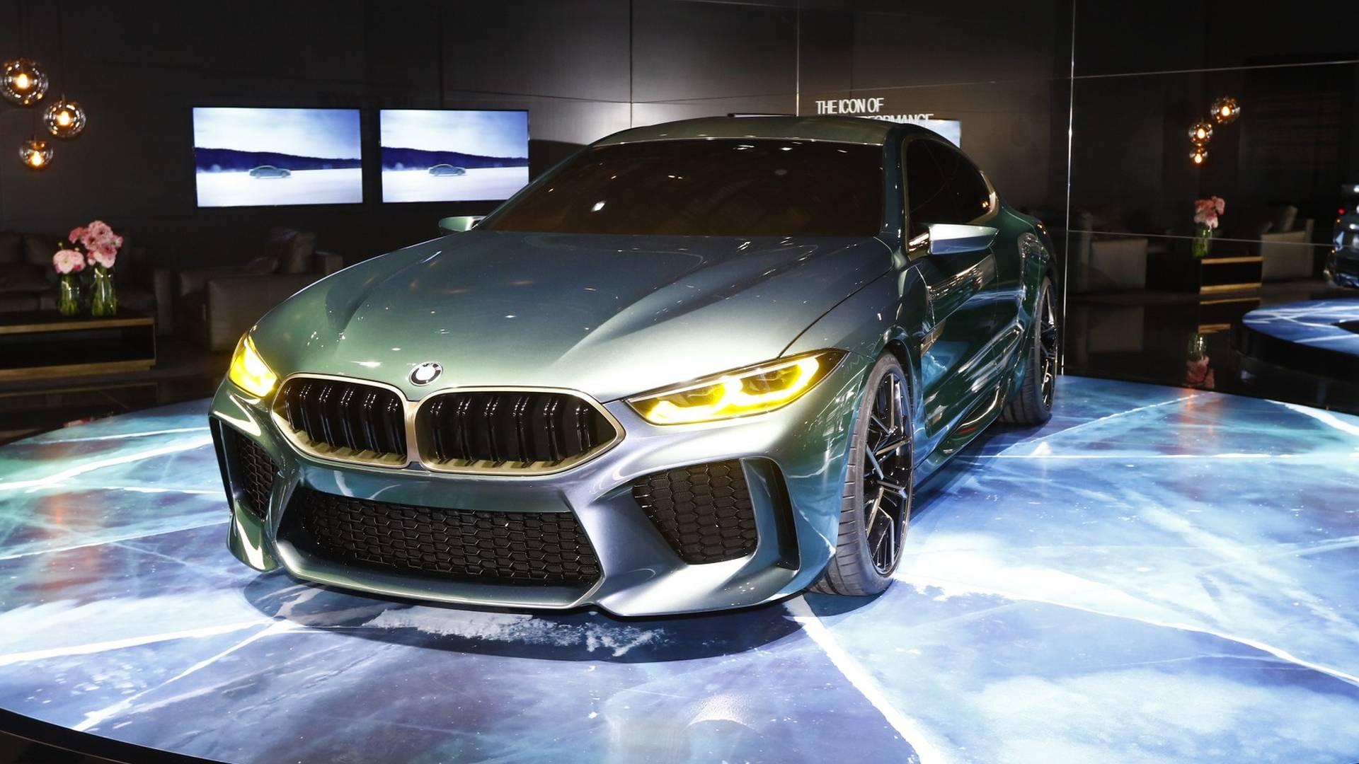 Photo of BMW M8 Gran Coupe önümüzdeki yıl yollara inecek