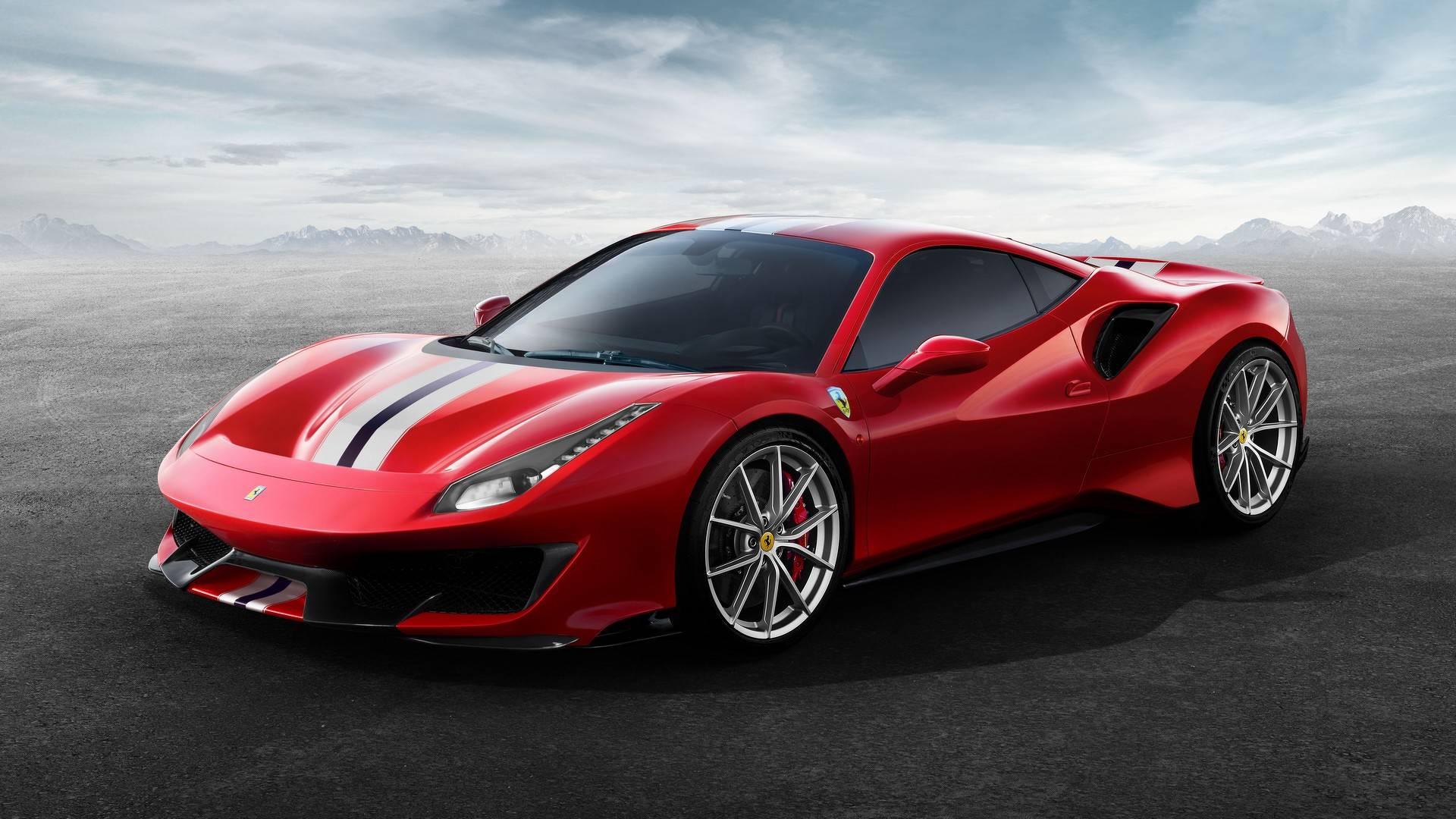 Photo of Ferrari tarihinin en güçlü V8 modeli: 488 Pista!