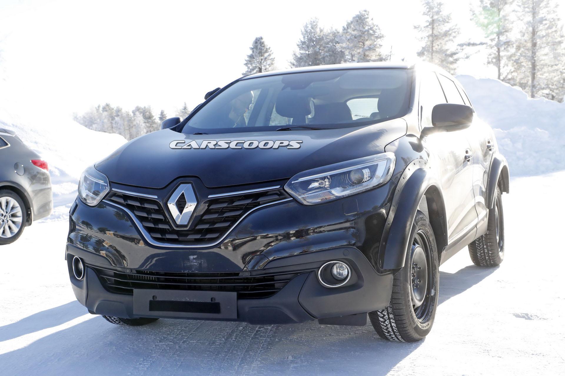 Photo of Renault'un test katırının ardında Kadjar RS mi var?