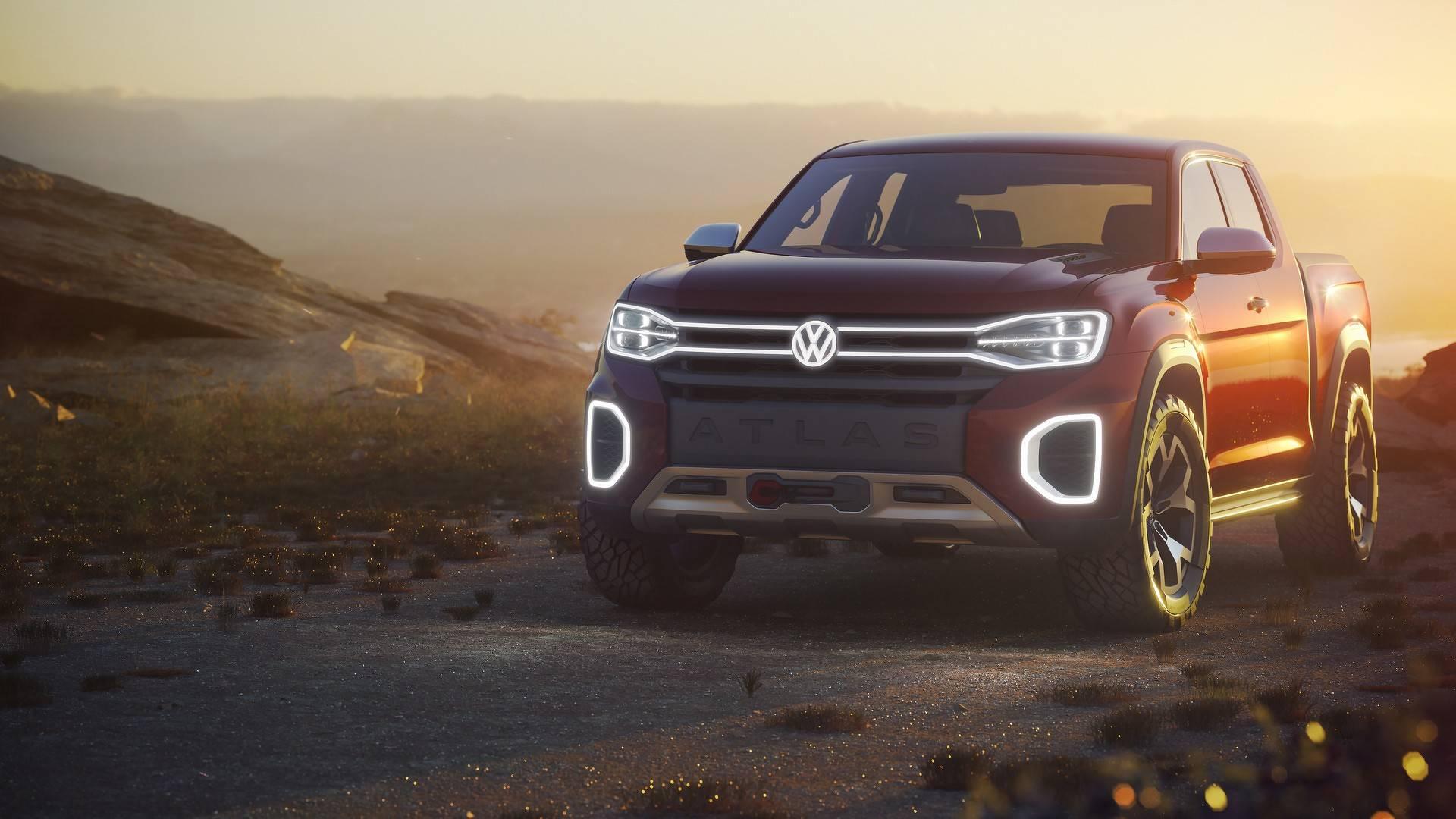 Photo of Volkswagen Atlas Tanoak, pick-up pazarına göz kırpıyor