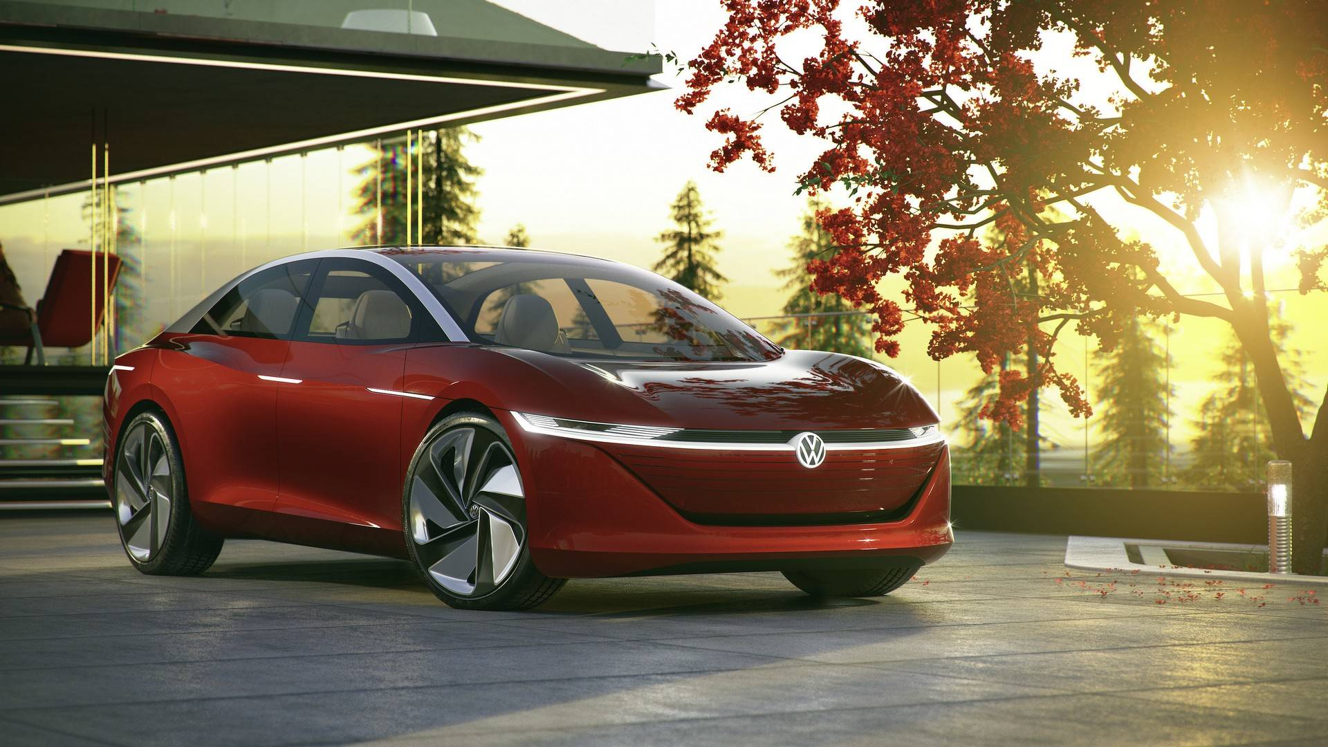 Photo of Volkswagen'den sürücüsüz konsept: I.D. Vizzion