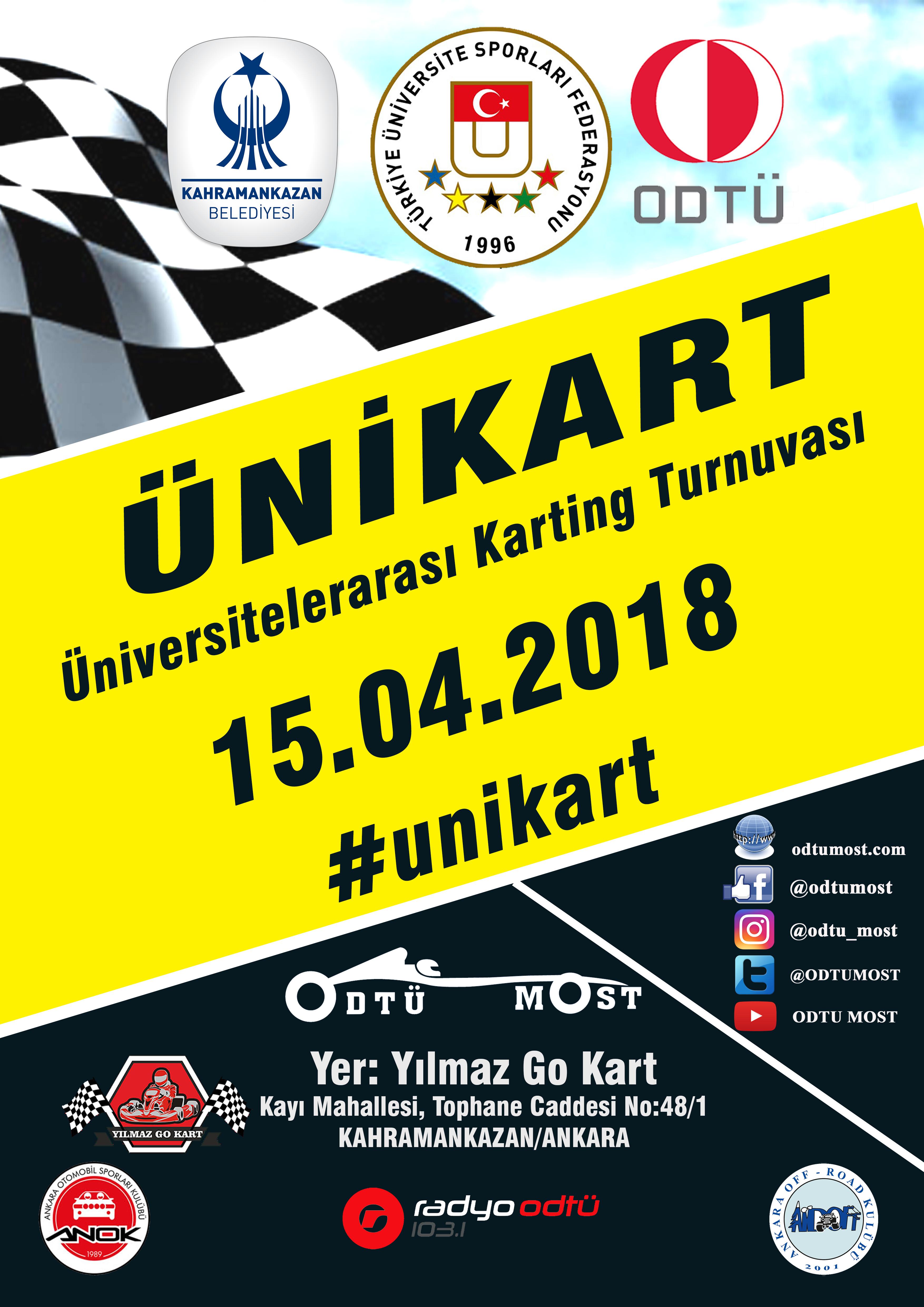 Photo of Üniversitelerarası Karting Turnuvası Kahramankazan'da