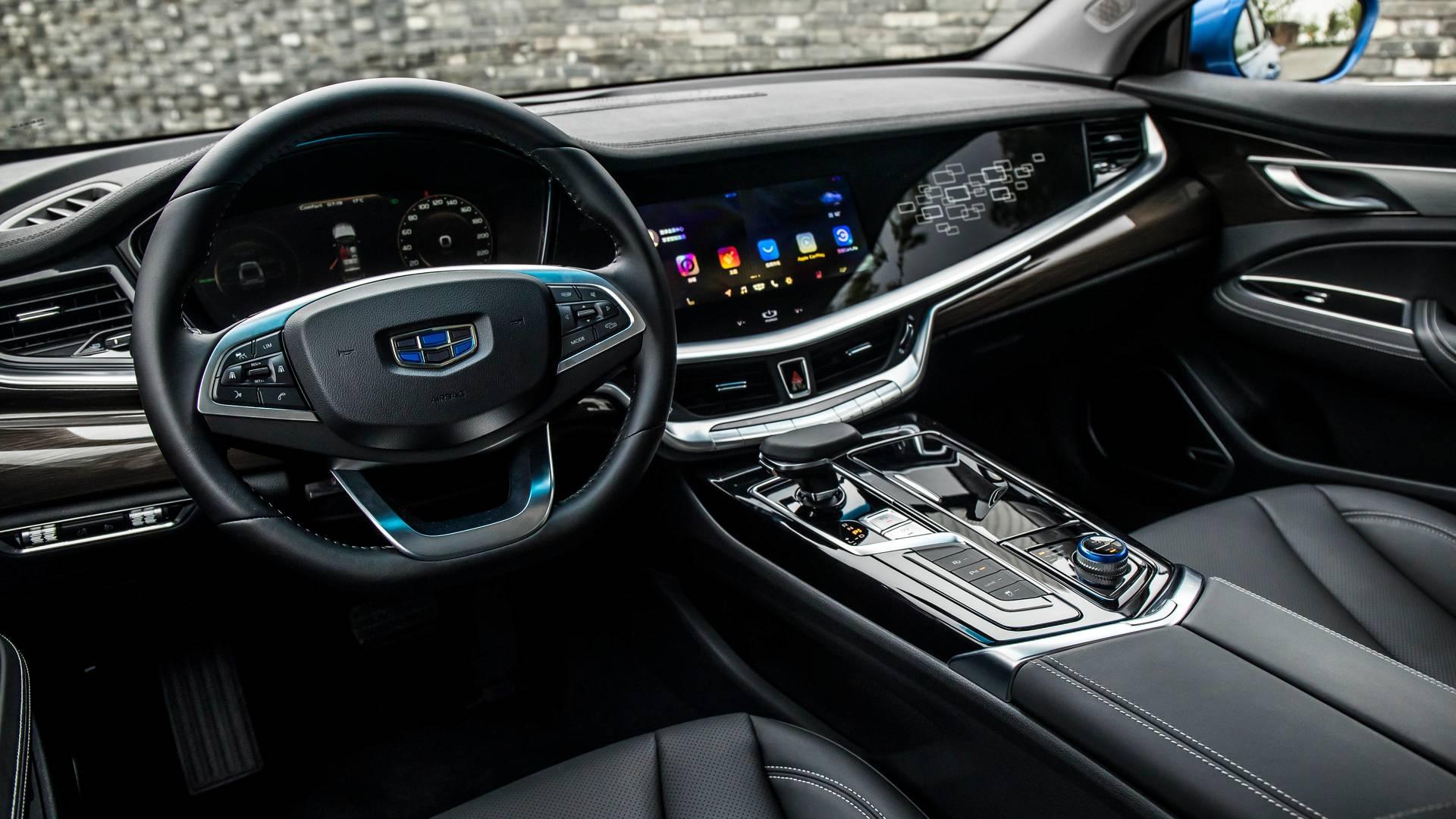 Geely Den Volvo Destekli Premium Model Bo Rui Ge Otopark Com