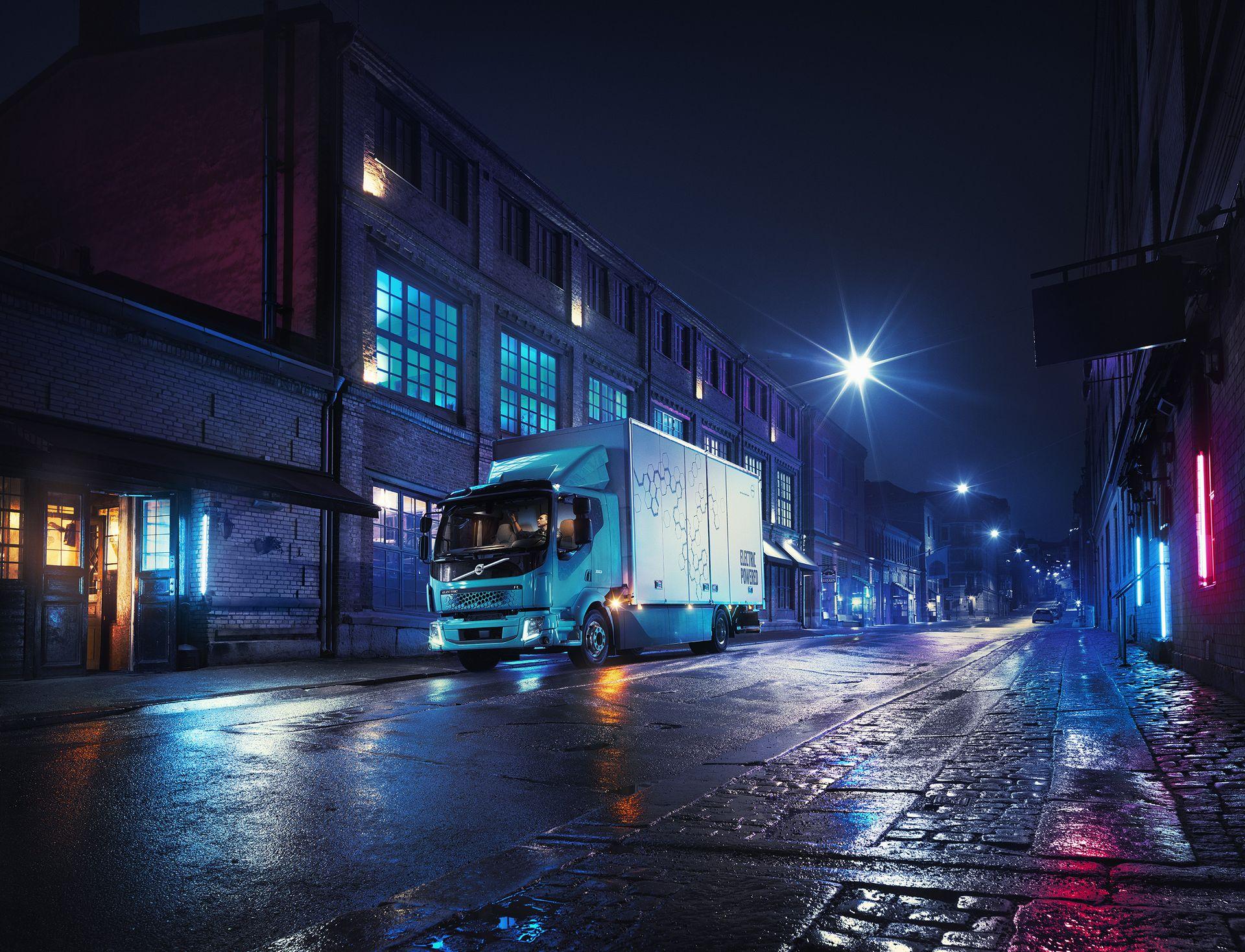 Photo of Volvo'dan elektrikli kamyon sürprizi: FL Electric!
