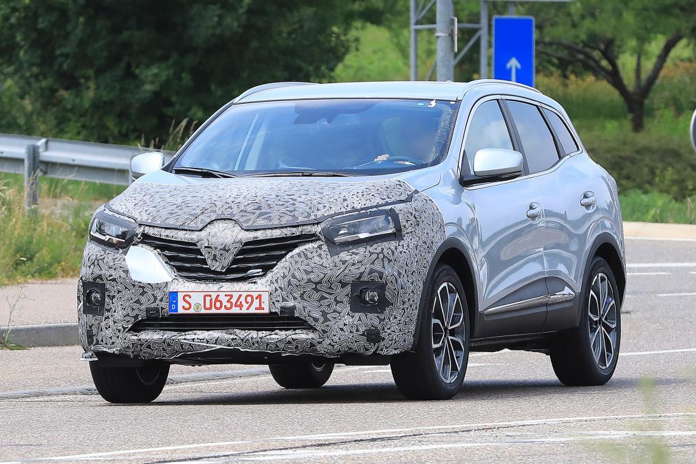 Photo of Makyajlı Renault Kadjar test sırasında görüntülendi