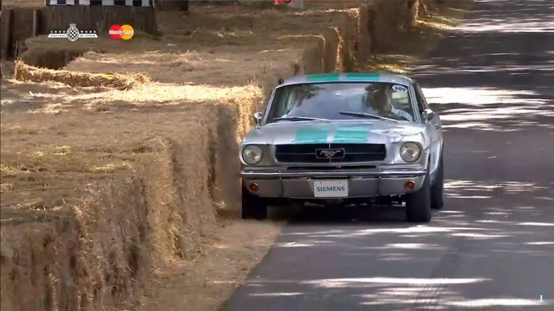 Photo of 1965 model Ford Mustang, otonom testinde çuvalladı!