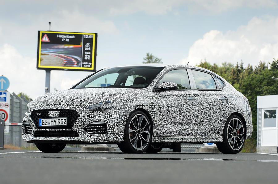 Pariste Tanıtılacak Hyundai I30 Fastback N Iddialı Geliyor