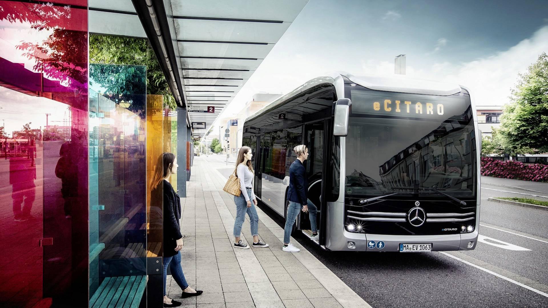Photo of Mercedes-Benz eCitaro şehir içi ulaşımı elektriklendiriyor!