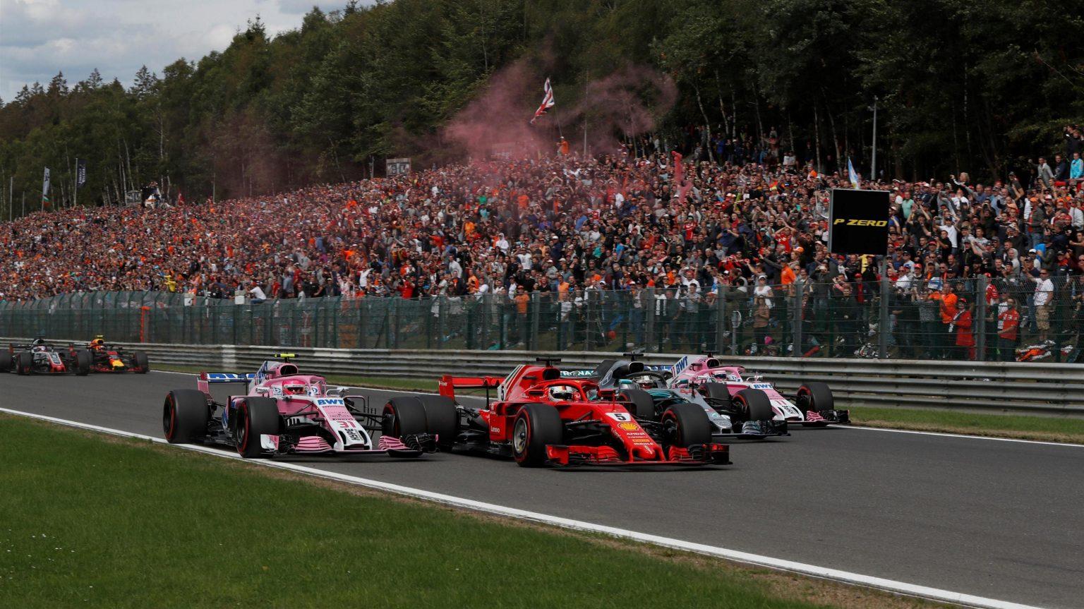 Photo of F1 Belçika GP: Vettel yaz arasından bomba gibi döndü!