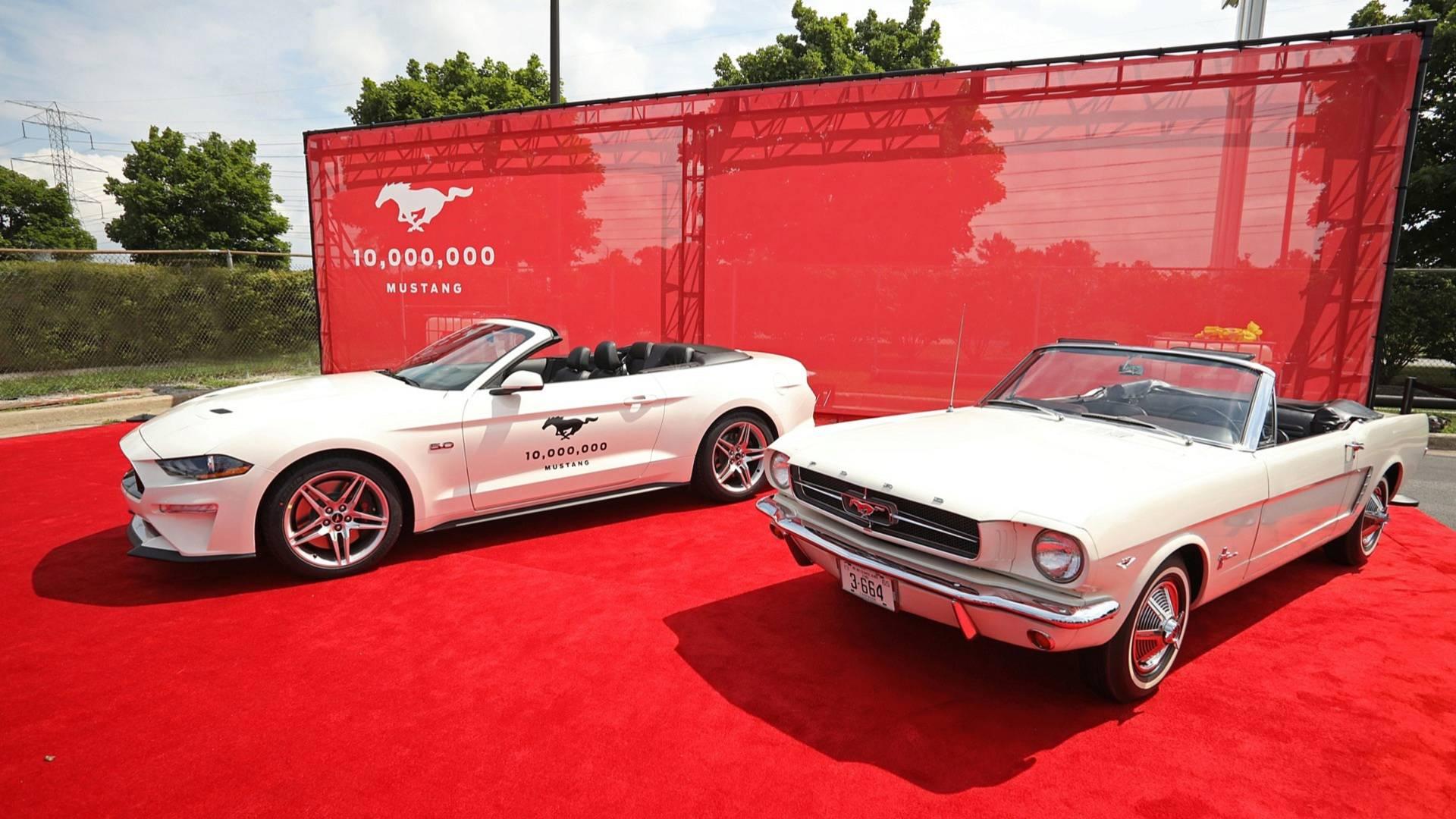 Photo of 10 milyonuncu Ford Mustang banttan indi!