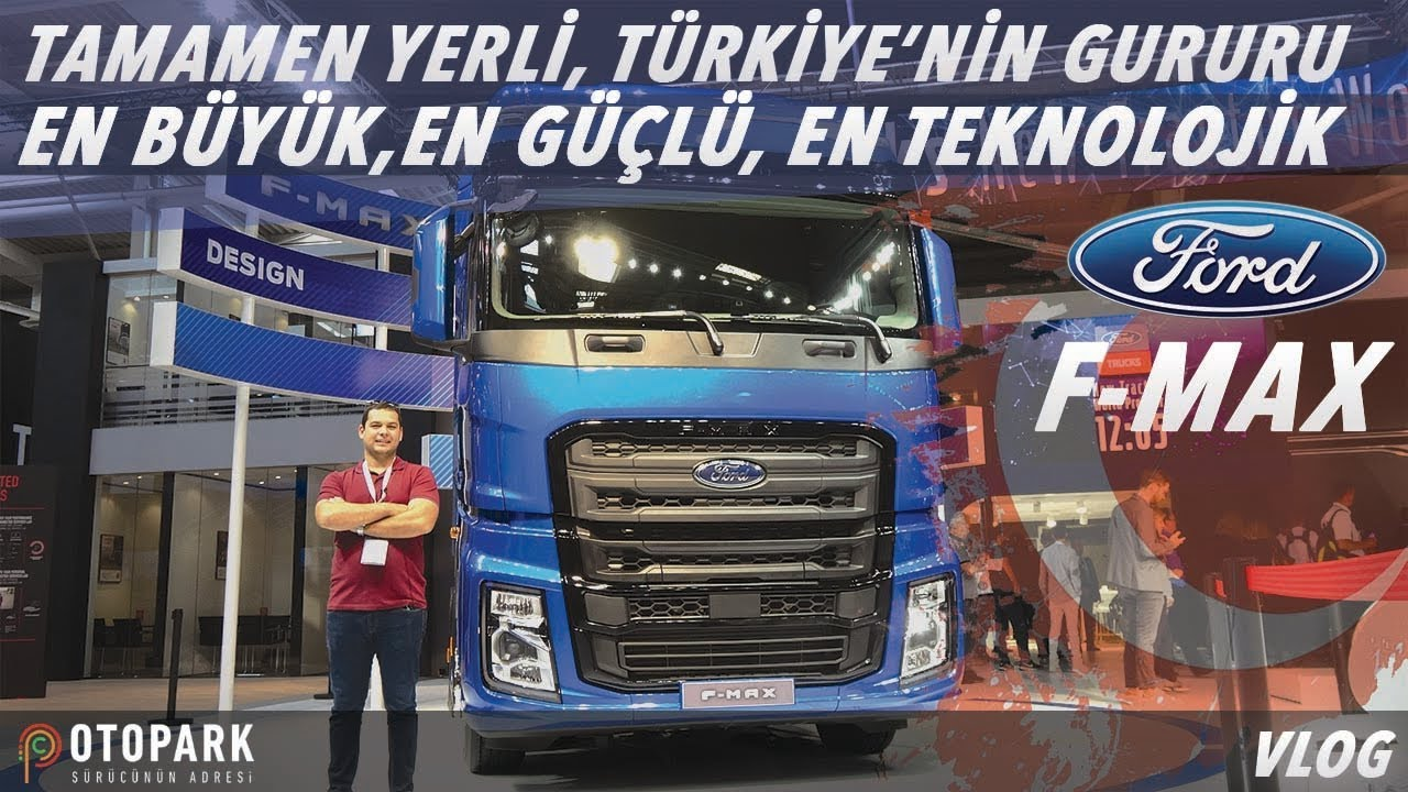 Photo of FORD F-MAX Dünya prömiyeri | Ticari araç fuarı | VLOG