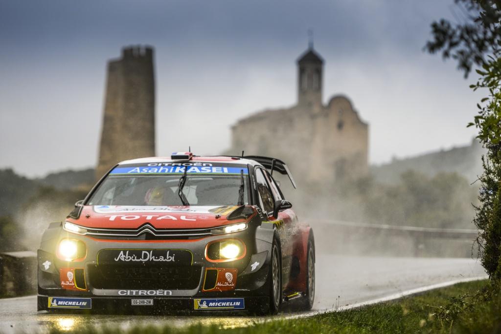 Photo of WRC İspanya birincisi Citroen ile Sebastien Loeb
