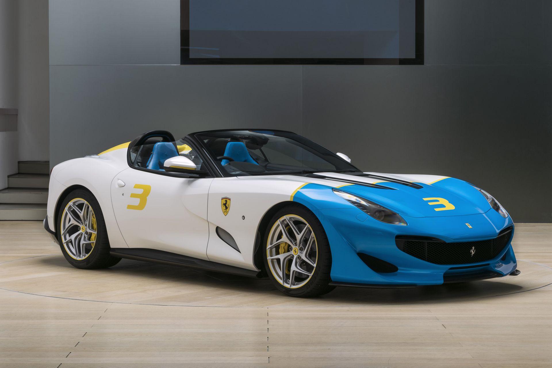 Photo of Özel üretim Ferrari SPCJ3, cabrio gövdesiyle ortaya çıktı