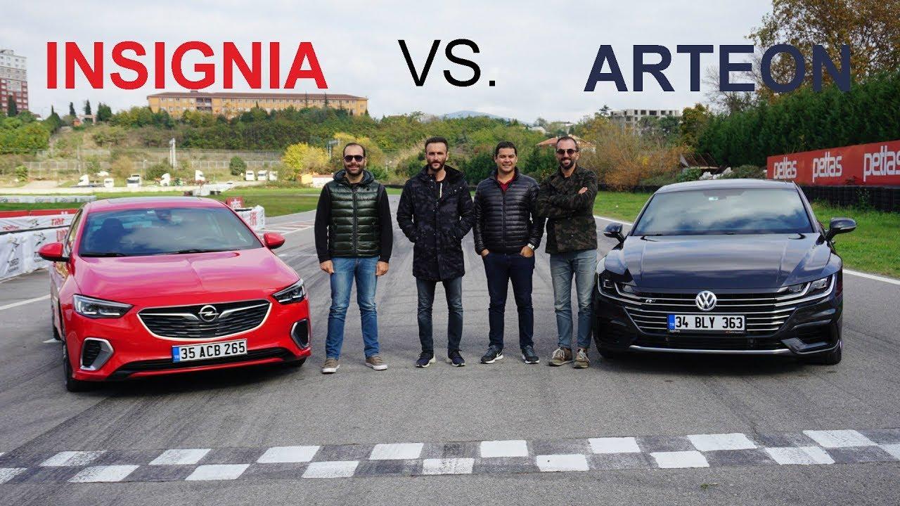 Photo of VW Arteon 4Motion vs Opel Insignia GSI | DRAG & YARIŞ