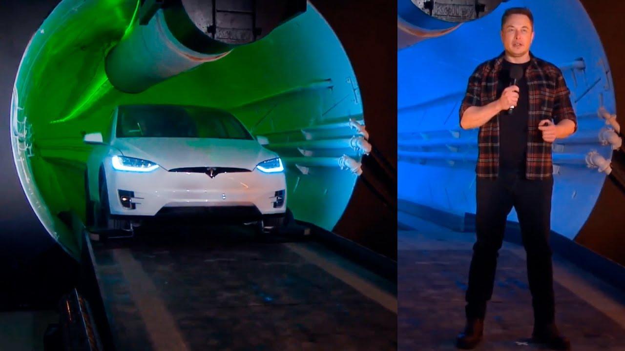 Photo of Elon Musk, Çılgın Tünelinin Açılışını Yaptı!