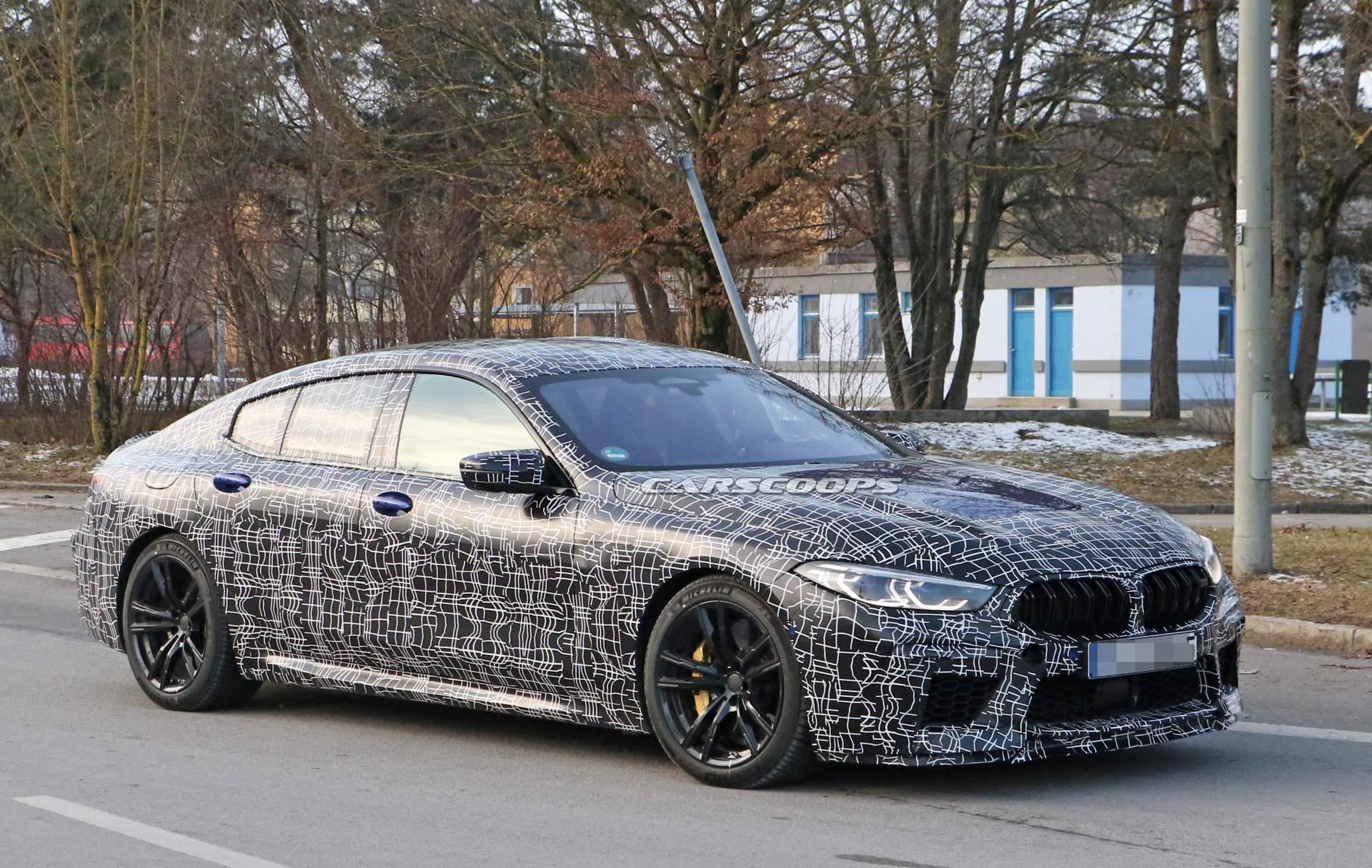 Photo of BMW M8 Gran Coupe kamufilajlı görüntülendi