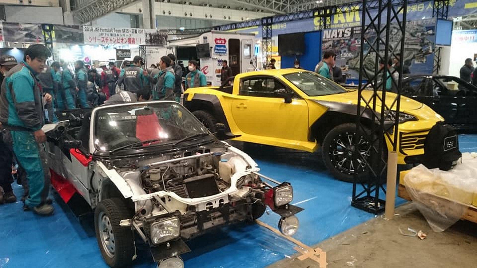 Photo of Toyota GT86 ve Lamborghini Urus karışımı pick-up!